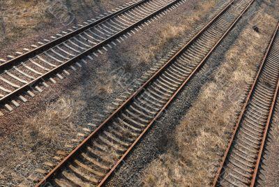 Rail Road in Chernobyl