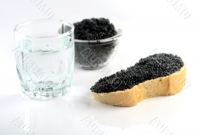 soft black caviar