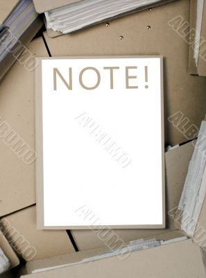 Business, catalog, note