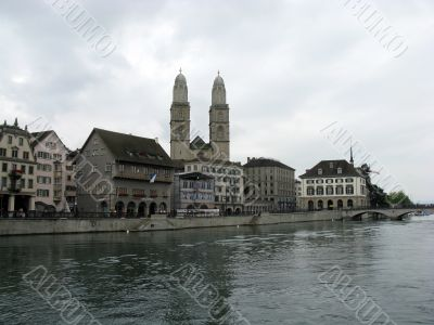 Zurich, The Financial Center Of Europe.