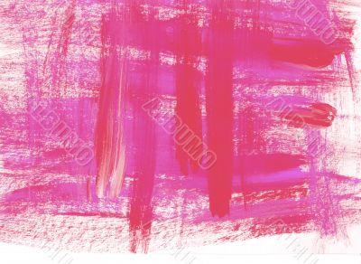 Pink brush stroke