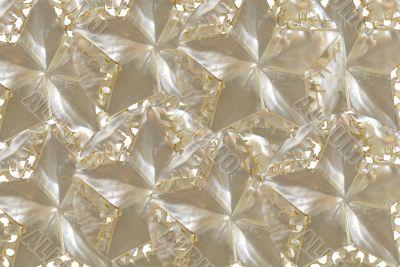Iridescent star texture