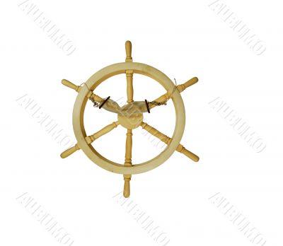 Hammock on Nautical Steering Wheel