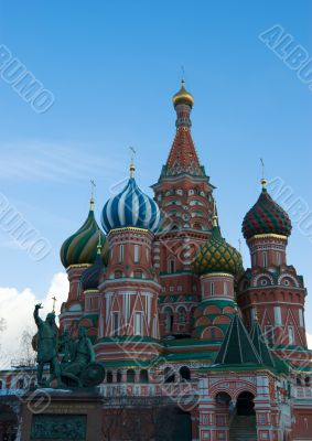 Vasily`s cathedral Blissful