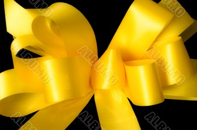 Yellow ribbon supporting our troops