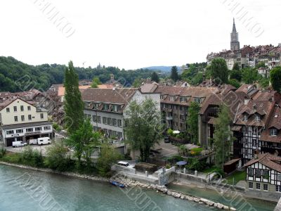 Bern, the capital of Switzerland.