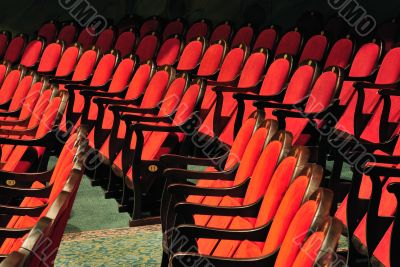 Theatrical chairs