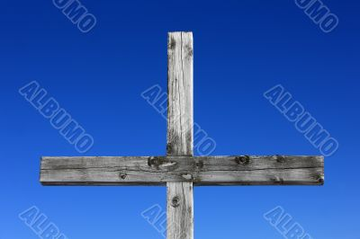 Weathered Wood Cross