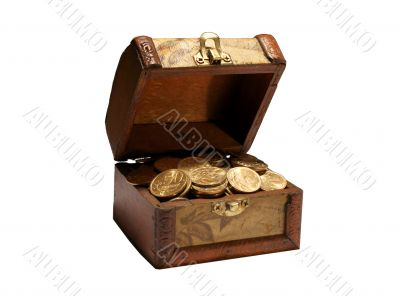 Treasure casket