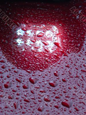 detailed waterdrops texture
