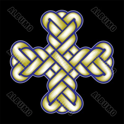 twisted Christian Holy cross