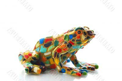 mosaic frog