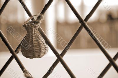 Handicraft Basket sepia