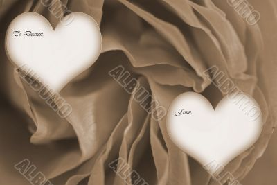 Happy Valentines Day from to sepia