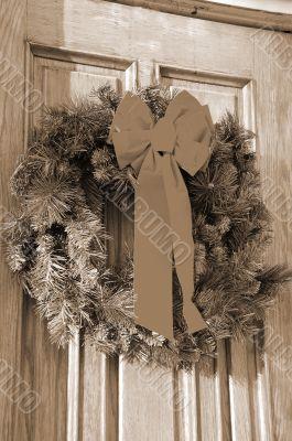 Christmas Decoration sepia