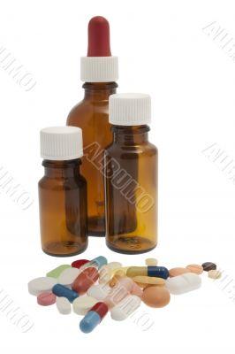 different tablets, medicine