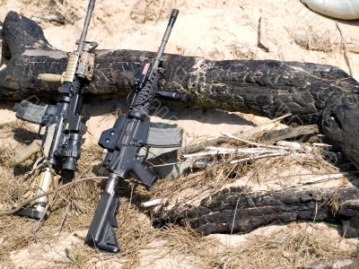 USA M4 Rifles