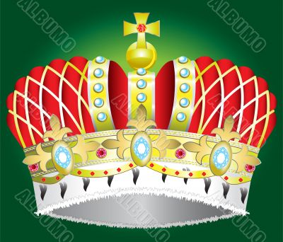 vector Medieval royal crown