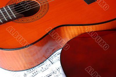 Acoustical guitar music
