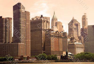 General urban view