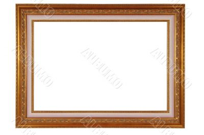 frame with clipping path