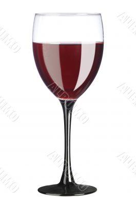 red vine glass