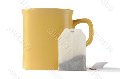 cup and teabag
