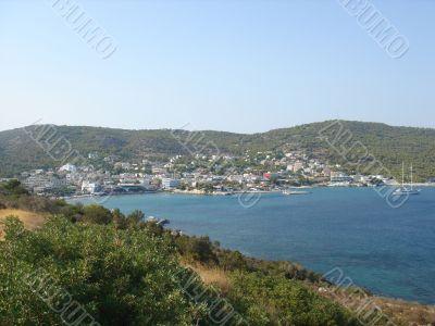 Aghia Marina view