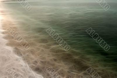 Abstract coastal background