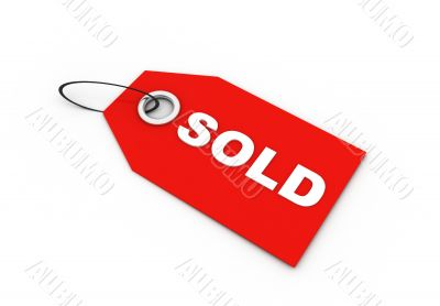 sold label
