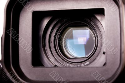 dv-cam camcorder close-up