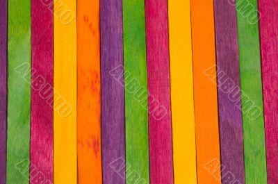 colorful background of coloured icelolly sticks