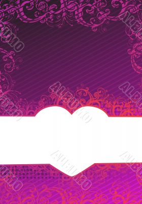 Vector illustration of purple background