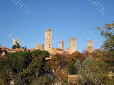 medieval italian village