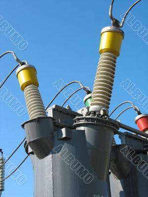 Industrial high voltage converter detail