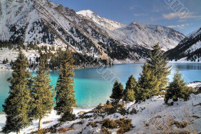 Big Almaty Lake in Zaili Alatau