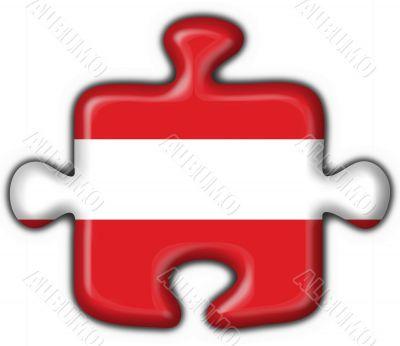 Austrian button flag puzzle shape