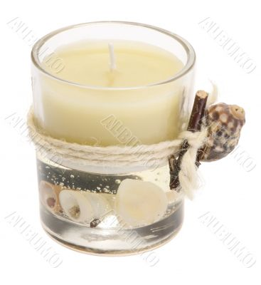 Bathroom aroma candle
