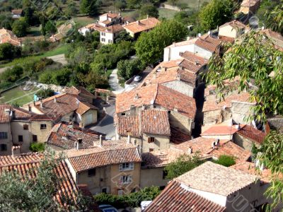 medieval french village