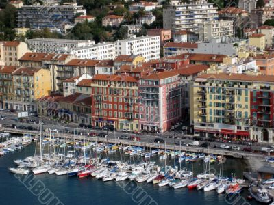 waterfront of Nice