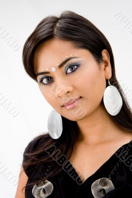 Beautiful Hindi woman