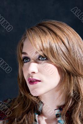 Beautiful dirty-blond woman