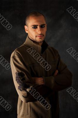 Dramatic Hispanic guy