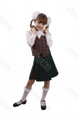 School girl. Education