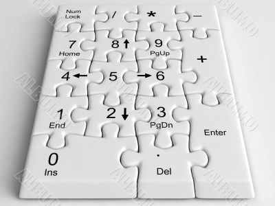 keyboard puzzle