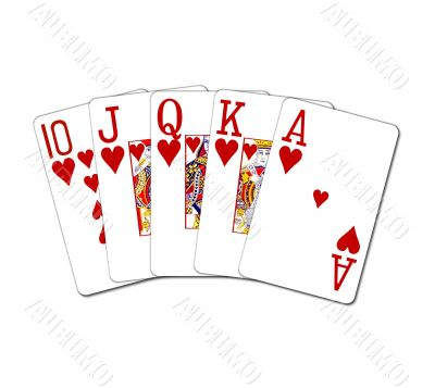 Poker Cards Royal Flush