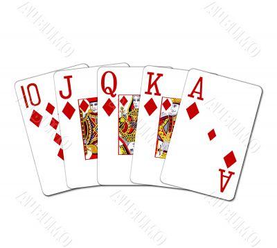 Poker Cards Royal Flush