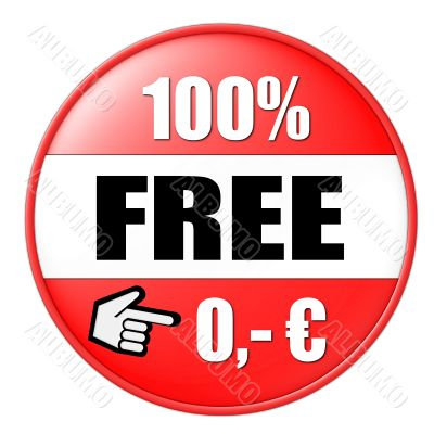 isolated 100 percent free button euro