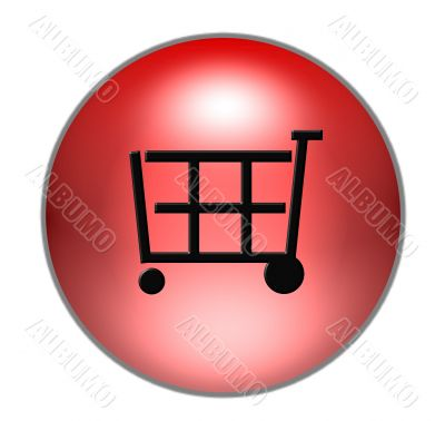 colored shopping cart button