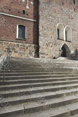 Stairs of a Cathedral